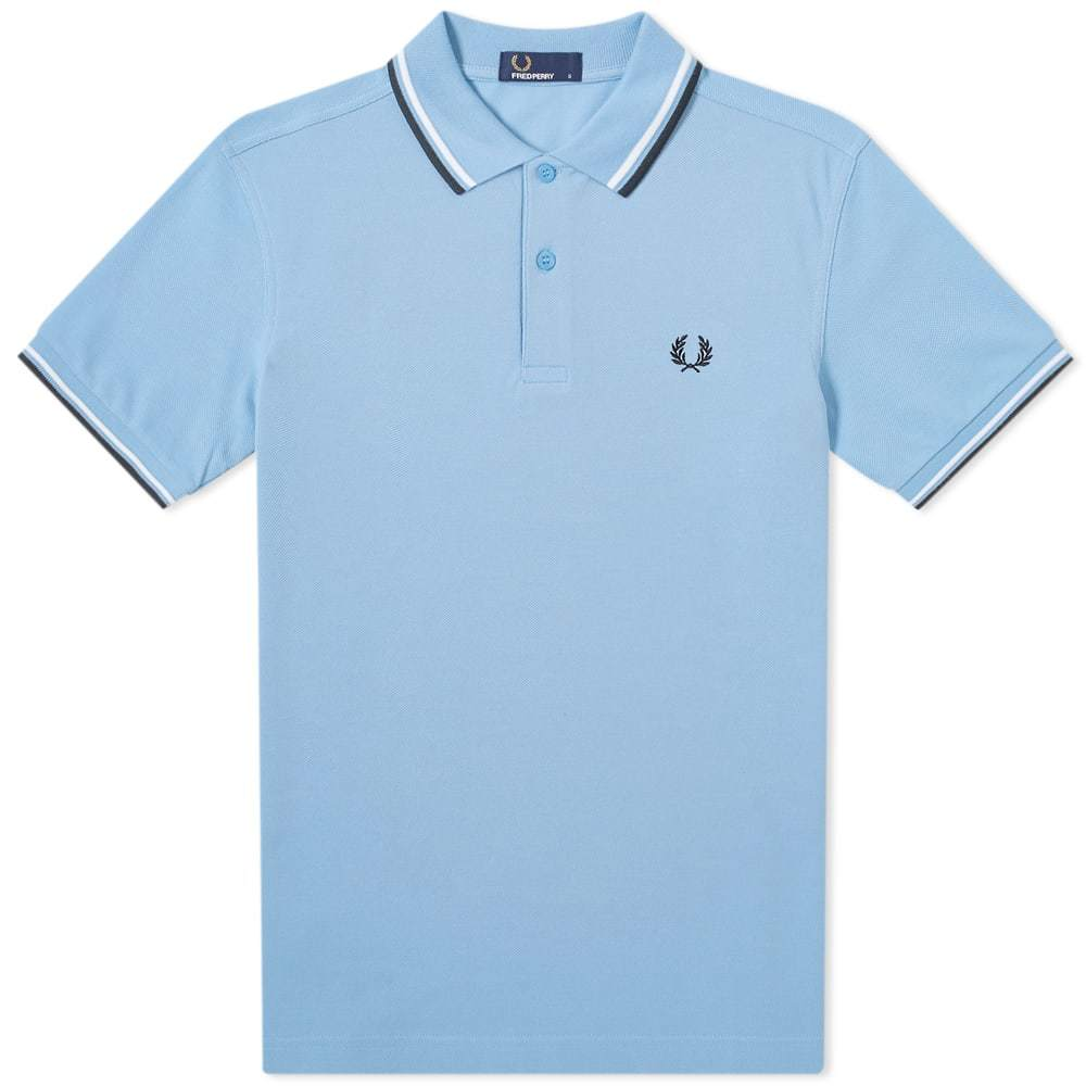 Photo: Fred Perry Authentic Twin Tipped Polo