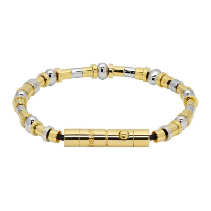 Photo: Ambush Gold Metal Beads Bracelet