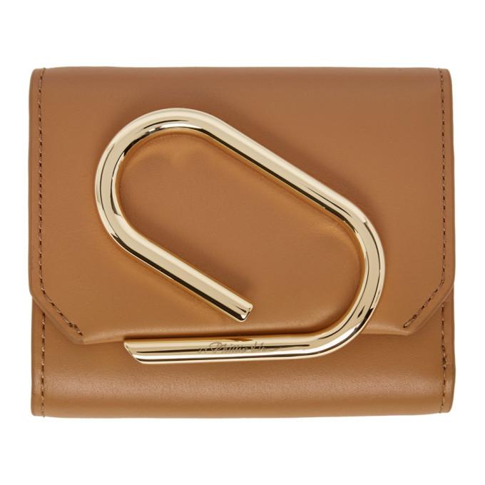 3.1 Phillip Lim Tan Small Alix Flap Wallet
