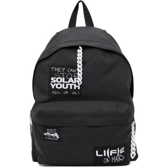 Raf Simons Black Eastpak Edition Padded Pakr Backpack
