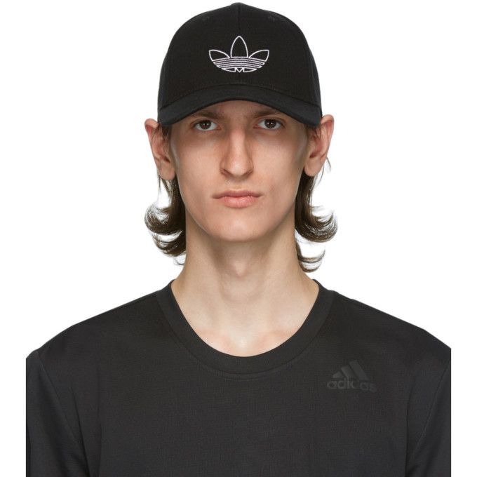 Photo: adidas Originals Black Classic Outline Cap