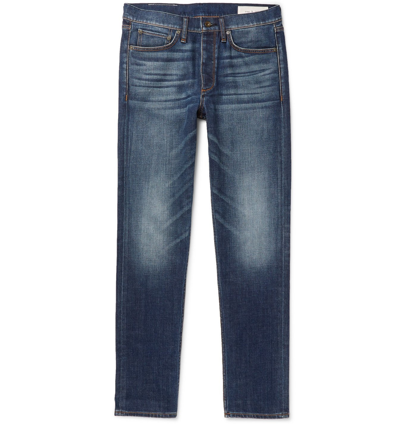 Photo: rag & bone - Fit 2 Slim-Fit Denim Jeans - Blue