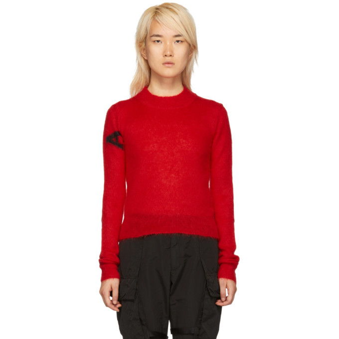 Photo: Alyx Red Mohair Judy Sweater