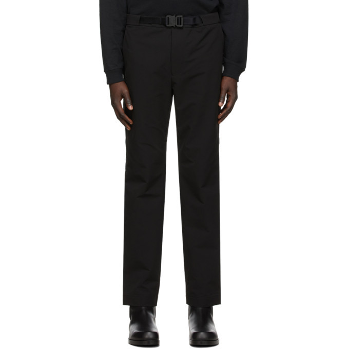 Photo: 1017 ALYX 9SM Black Formal Trousers