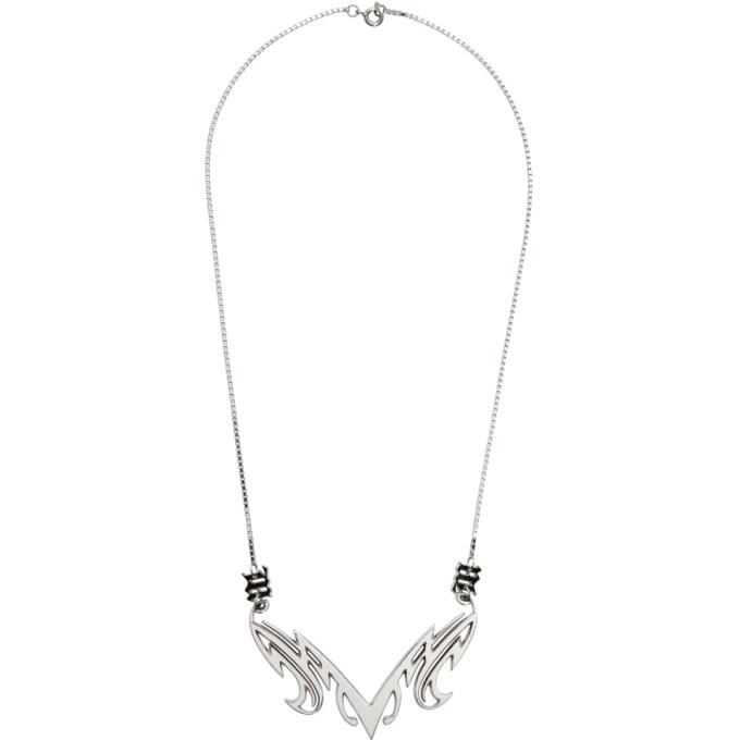 Photo: MISBHV Silver Tribal Necklace