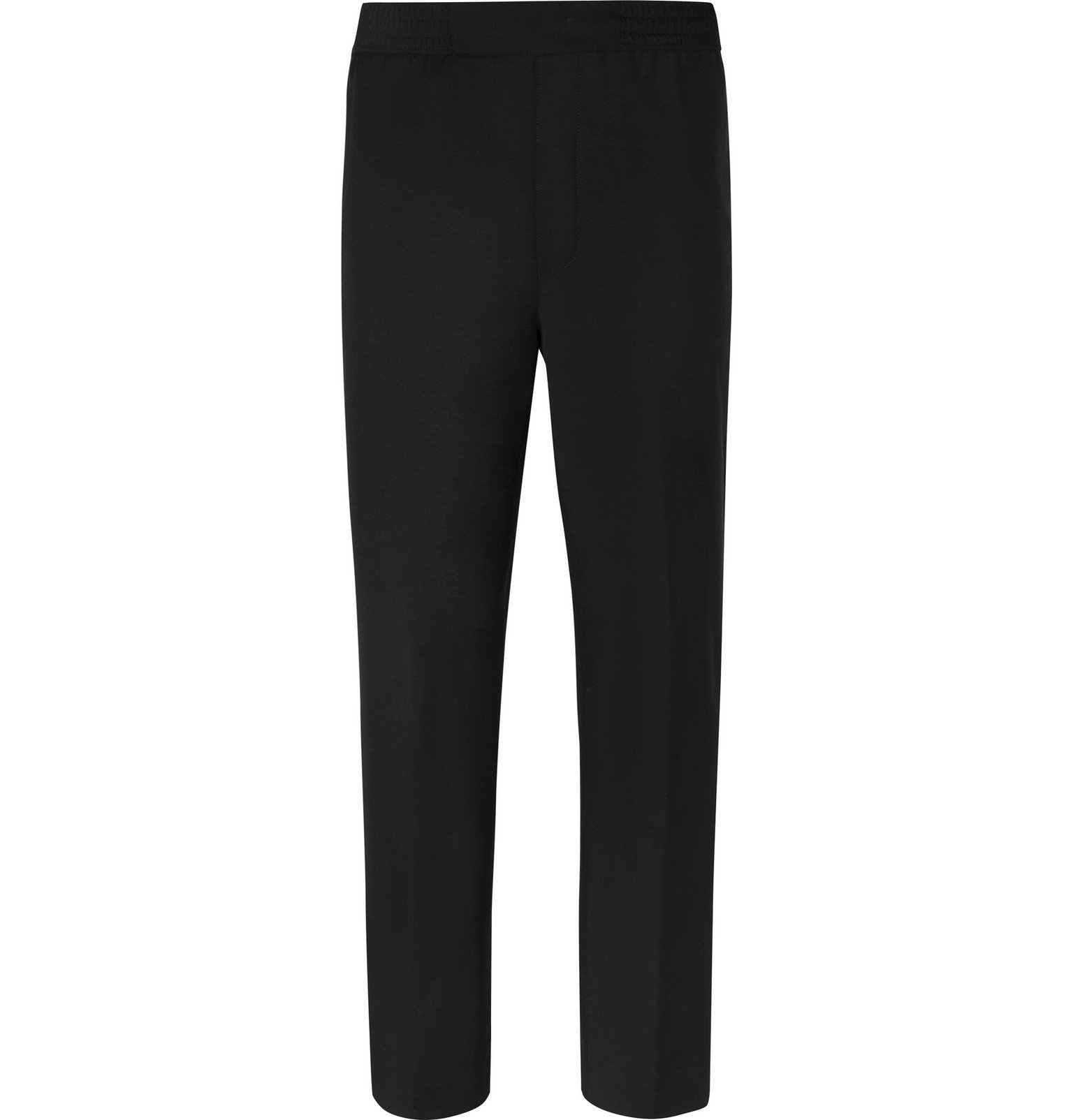 Photo: Acne Studios - Pismo Wool and Mohair-Blend Trousers - Black