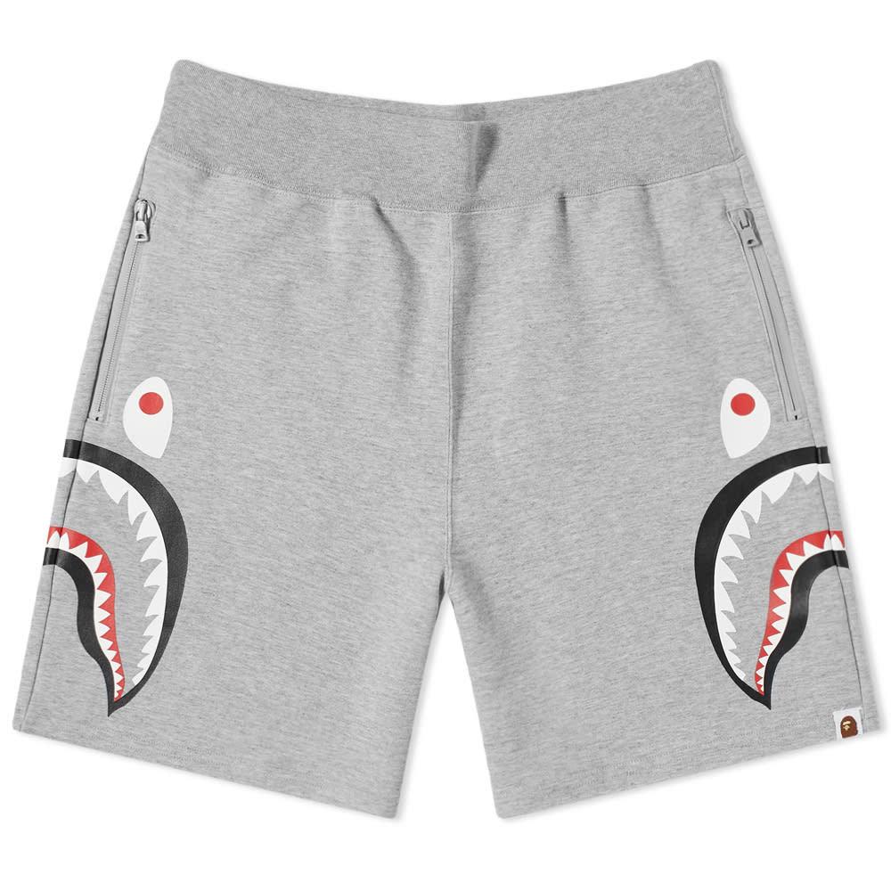 Photo: A Bathing Ape Side Shark Double Knit Sweat Short