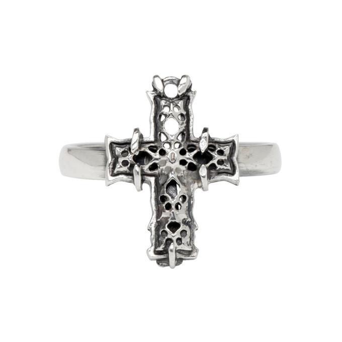 Photo: Emanuele Bicocchi Silver Small Cross Ring