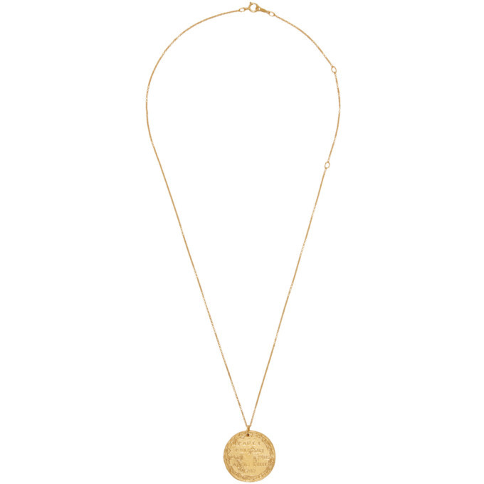 Photo: Alighieri Gold The Leone Medallion Necklace