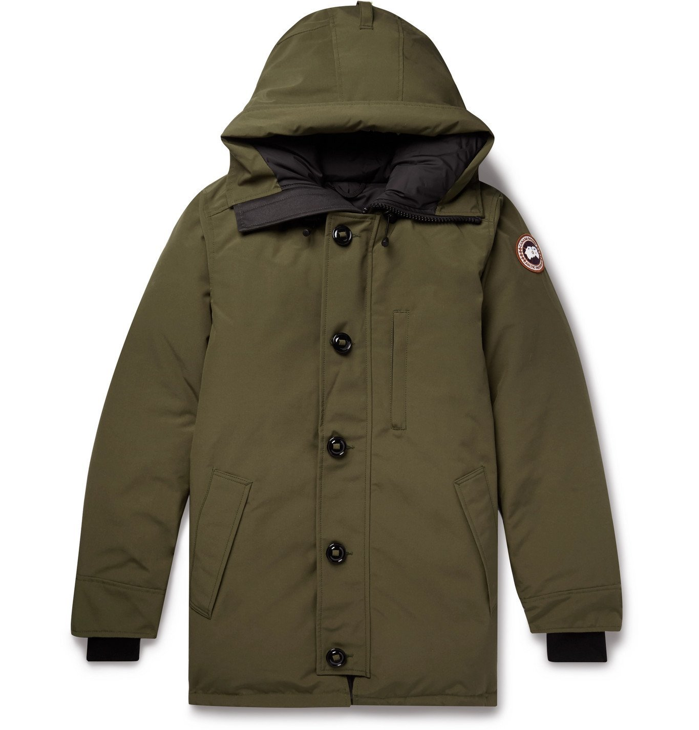 Photo: Canada Goose - Chateau Shell Hooded Down Parka - Green