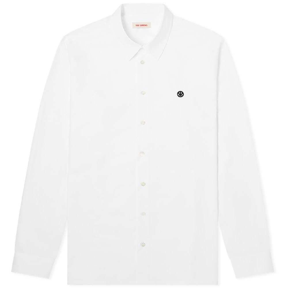 Raf Simons Embroidered Smiley Regular Fit Shirt