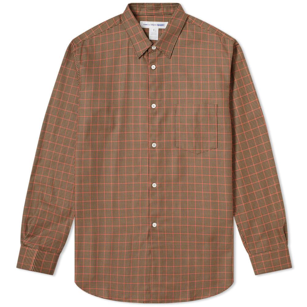Photo: Comme des Garcons SHIRT Poplin Tweed Check Shirt