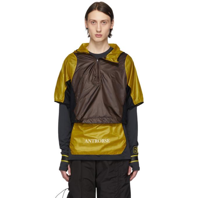 Photo: Nike Yellow and Burgundy WMNS Transform Jacket