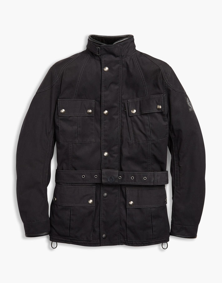 Belstaff Snaefell Motorcycle Jacket Black