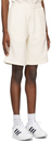 adidas Originals Off-White Adicolor 3-Stripes No-Dye Shorts