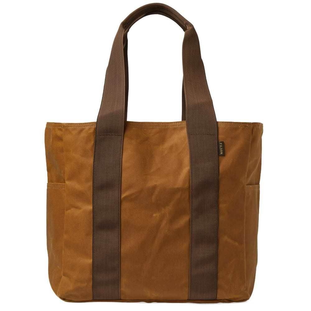 Filson Medium Grab 'n' Go Tote Bag Brown