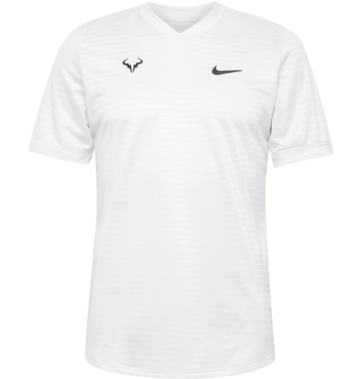 Photo: Nike Tennis - NikeCourt Rafa Challenger Dri-FIT Tennis T-Shirt - White