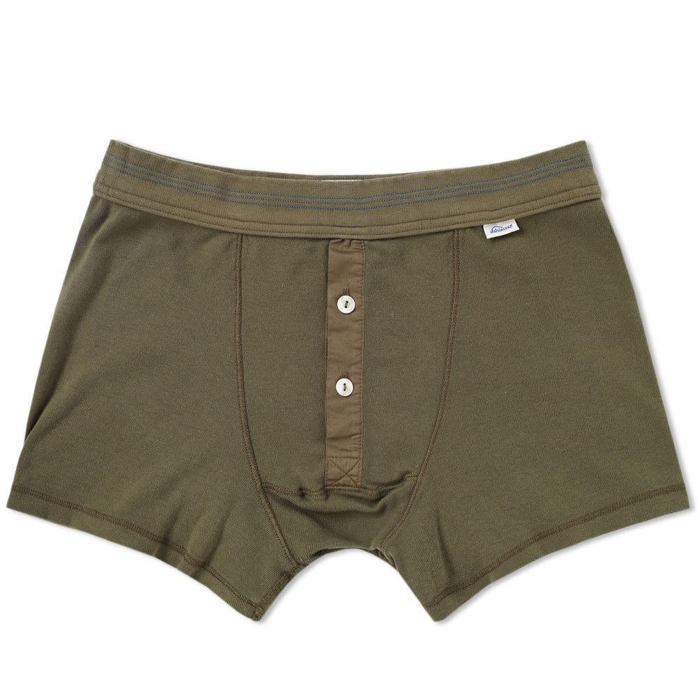 Schiesser Karl-Heinz Boxer Short Green