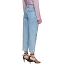 Stella McCartney Blue Sun Motif Jeans
