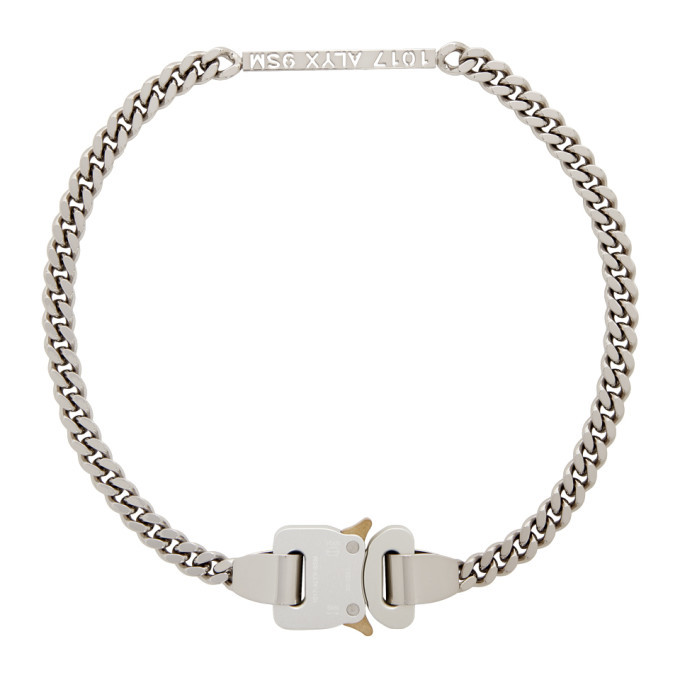 Photo: 1017 ALYX 9SM Silver Buckle Necklace