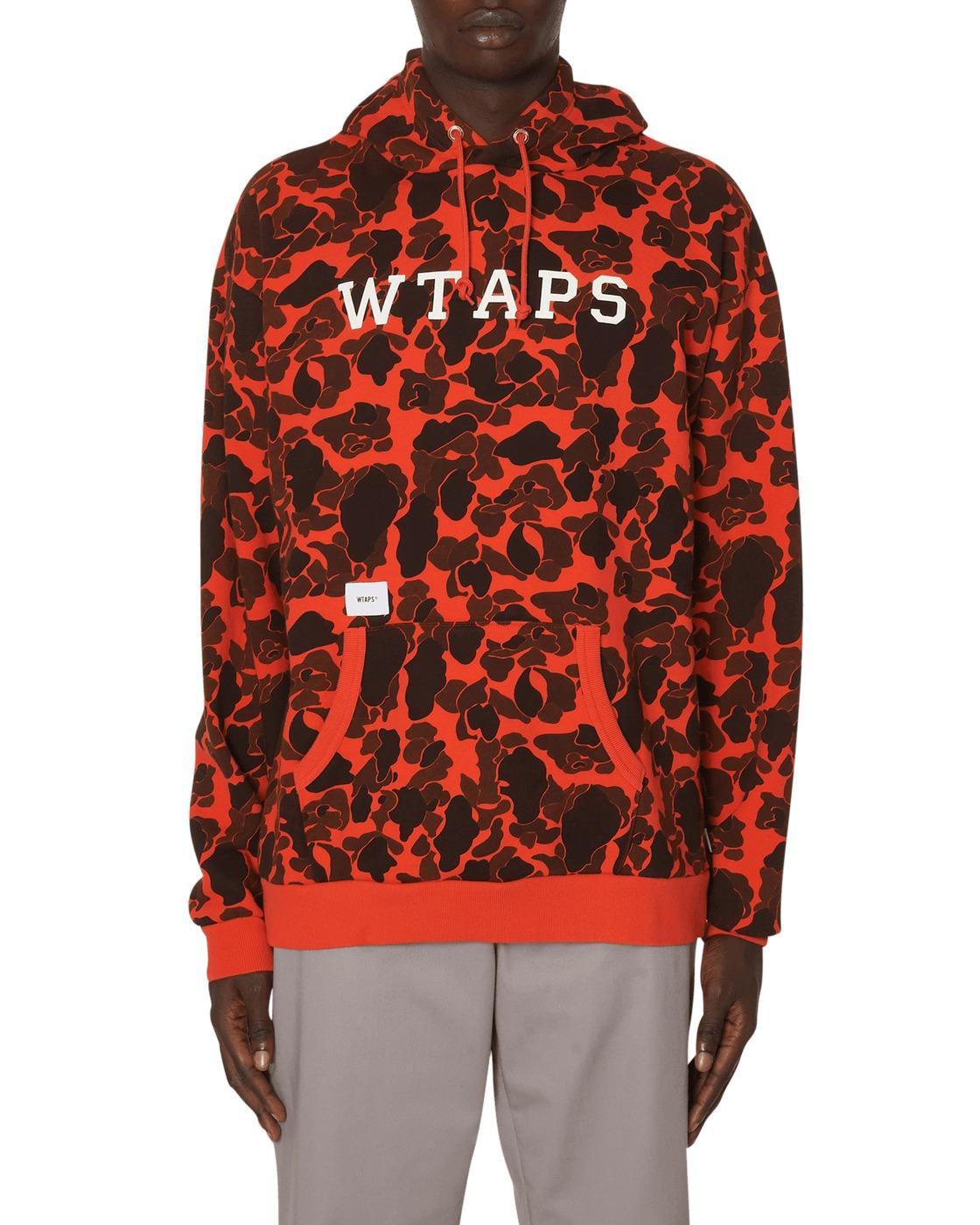 Photo: Wtaps Design Team Hooded Sweatshirt Orange