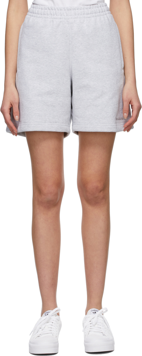 Photo: adidas Originals Grey Pharell Wiliams Edition Basic Shorts