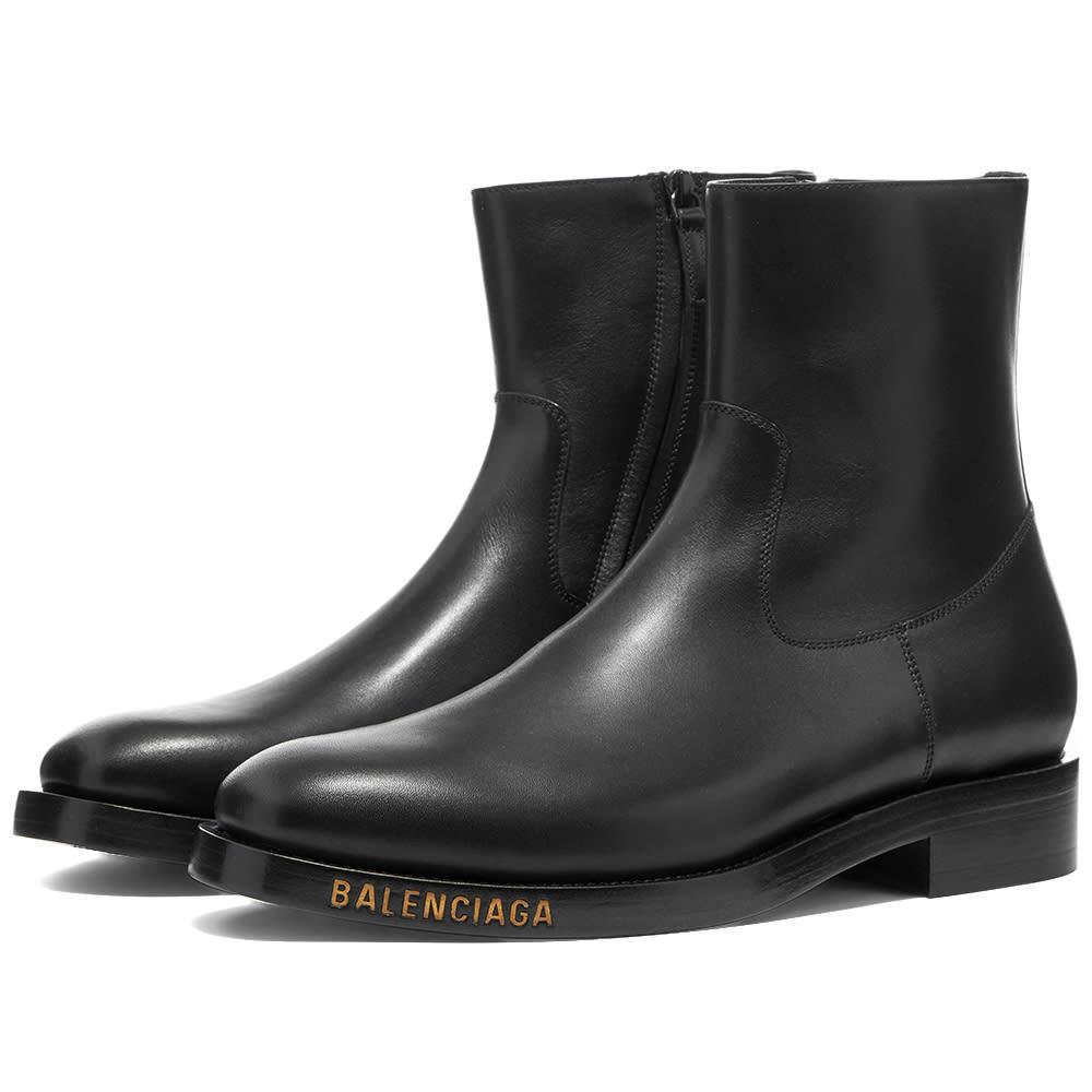 Photo: Balenciaga Logo Boot
