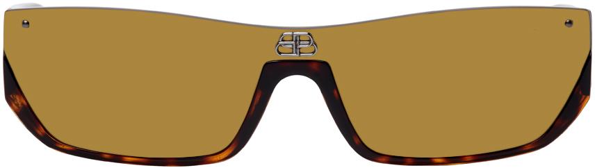 Photo: Balenciaga Tortoiseshell Shiny BB0080S Sunglasses