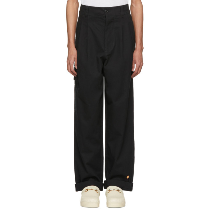 Photo: 032c Black BMC Cargo Pants