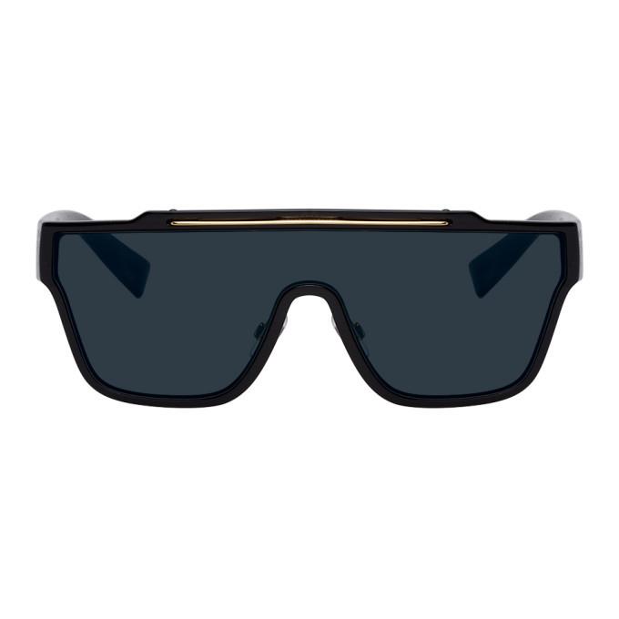 Photo: Dolce and Gabbana Black Viale Piave 2.0 Sunglasses