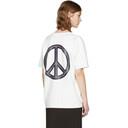 Acne Studios Green Tie-Dye Peace T-Shirt