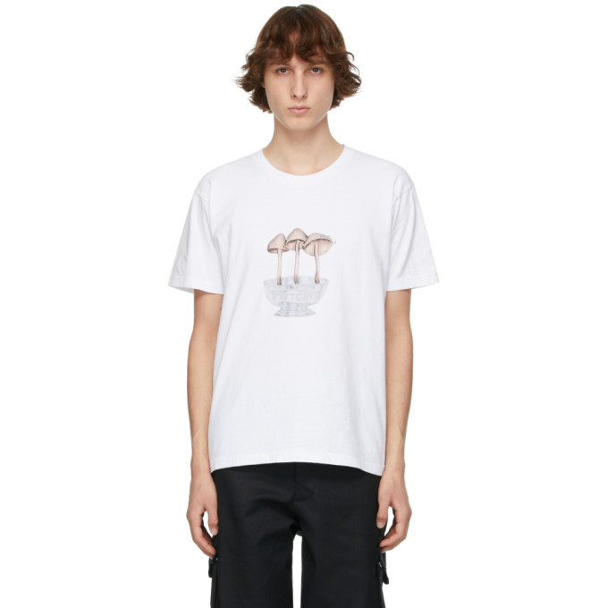 EDEN power corp White Wretched Flowers Edition Lil Wretched Mushroom T-Shirt