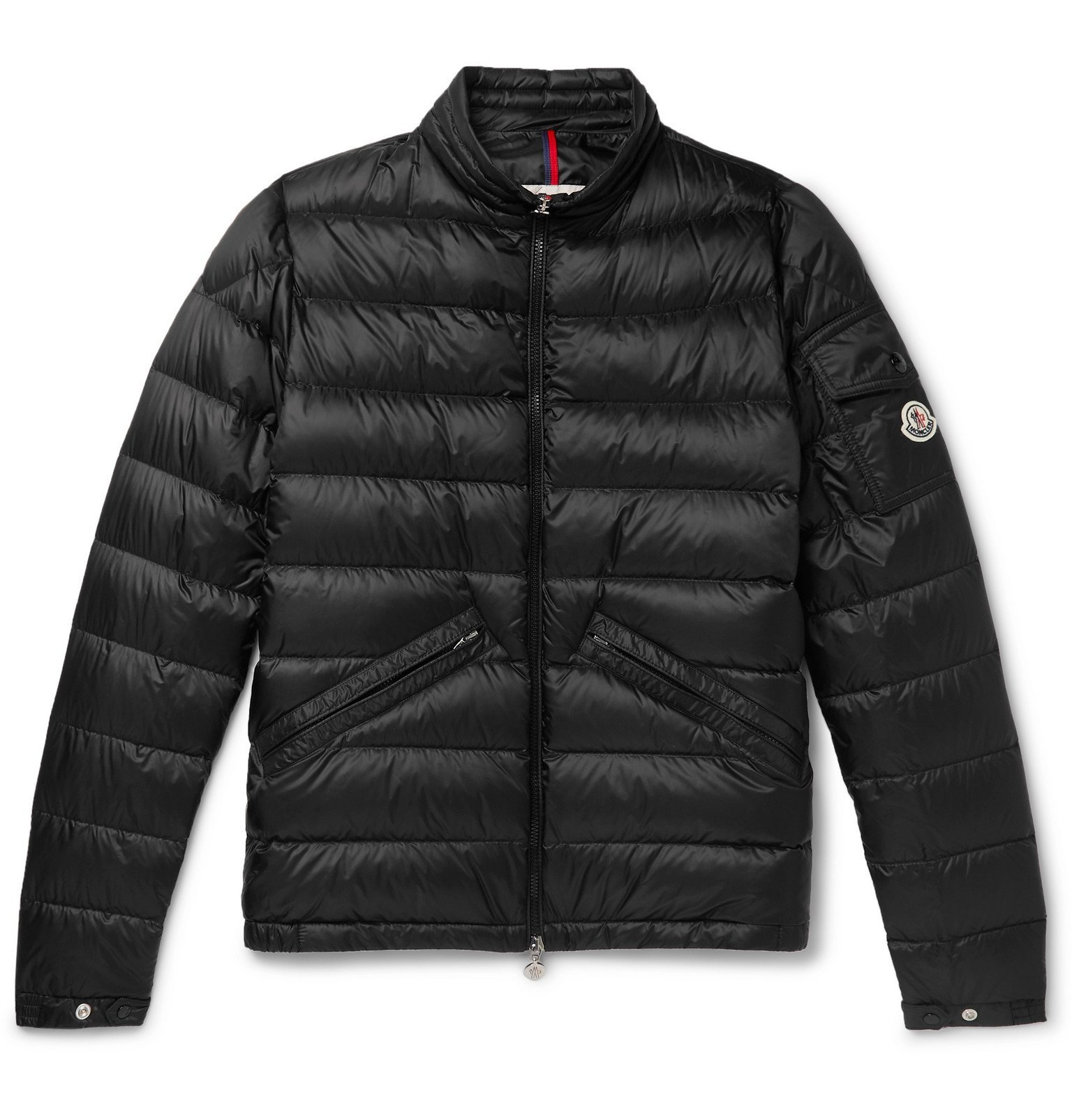 Photo: Moncler - Quilted Shell Down Jacket - Black