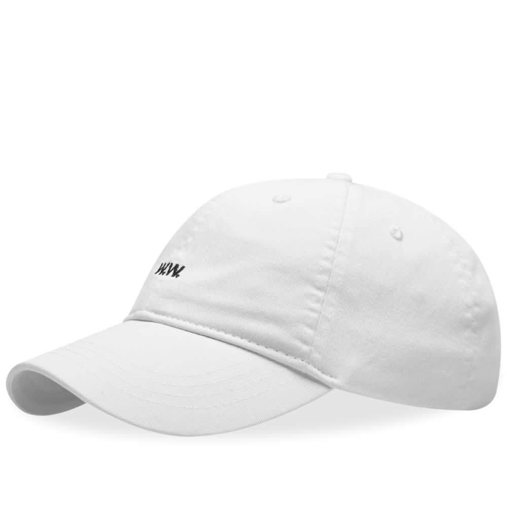 Wood Wood AA Low Profile Cap Off White