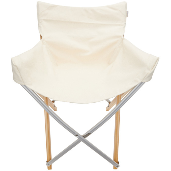 Photo: Snow Peak Beige Bamboo Long Take Chair