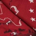 RRL - Printed Cotton Bandana - Red