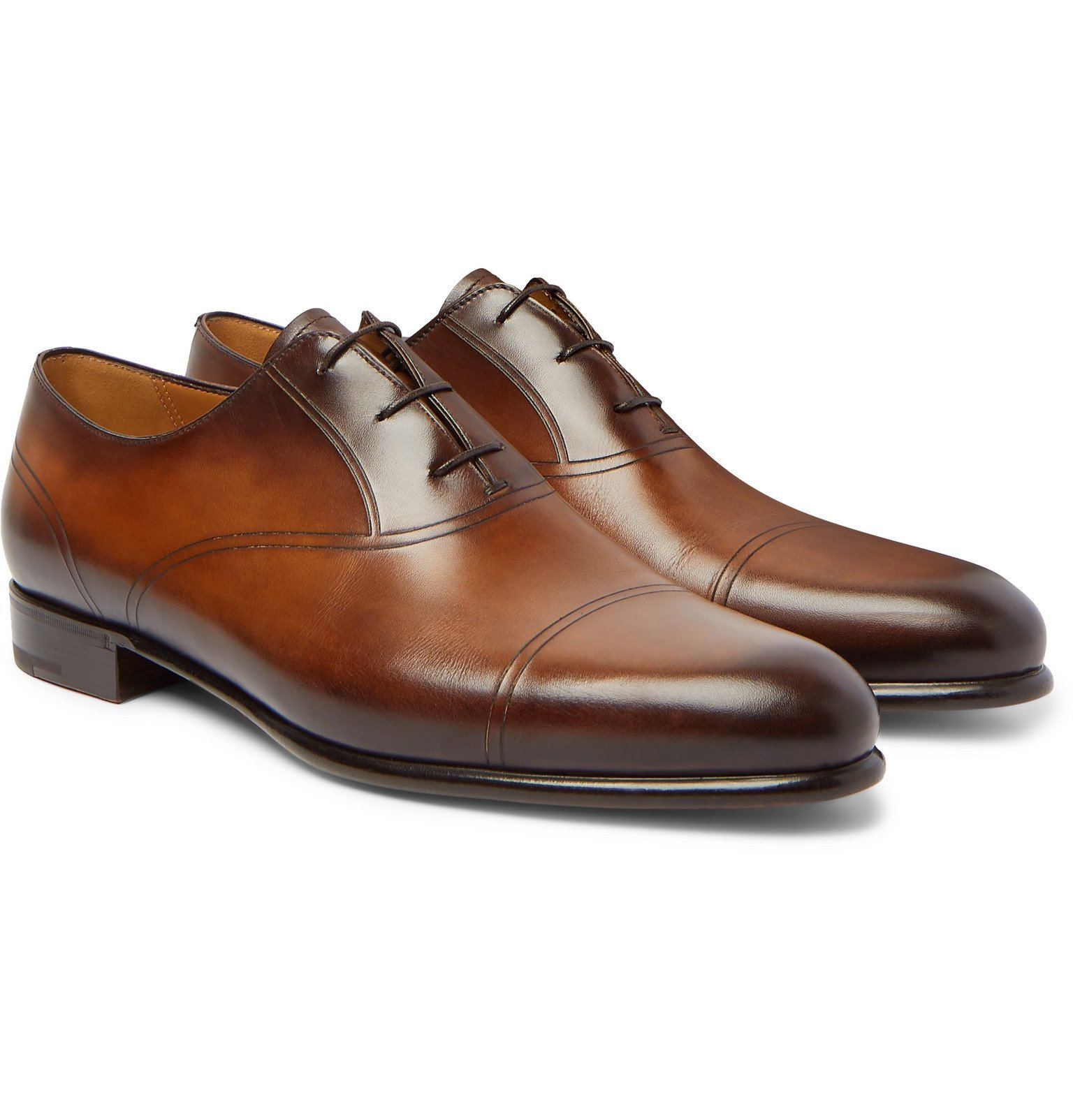 Photo: Berluti - Leather Oxford Shoes - Brown