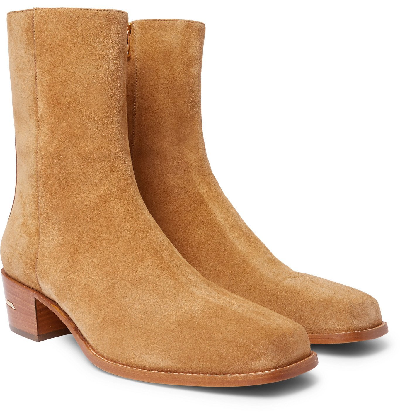 Photo: AMIRI - Suede Boots - Brown