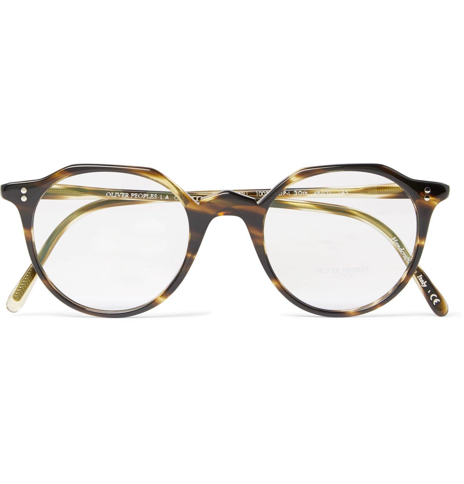 Oliver Peoples - OP-L 30th Round-Frame Tortoiseshell Acetate Optical Glasses - Tortoiseshell