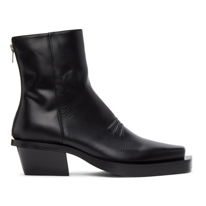 Photo: 1017 ALYX 9SM Black Leone Zip Boots