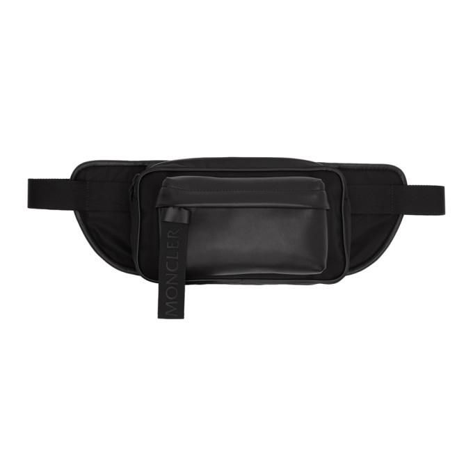 Photo: Moncler Black Leather Hip Bag
