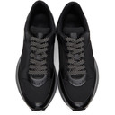 Dunhill Black Aerial Patina Sneakers