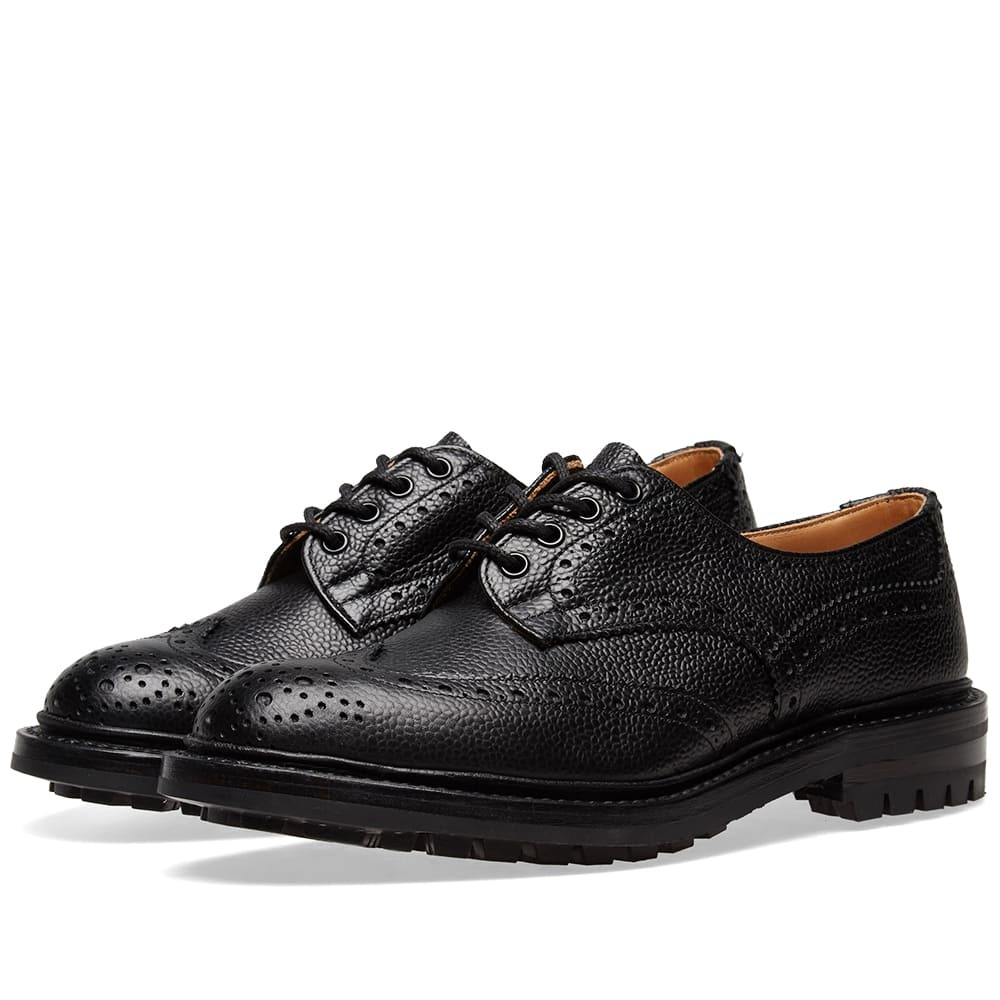 Photo: Tricker's Commando Sole Ilkley Brogue