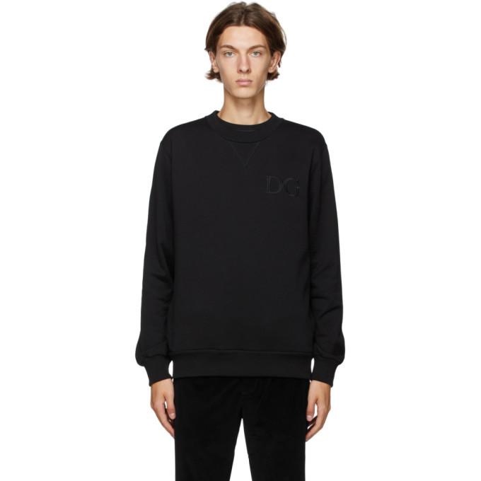Photo: Dolce and Gabbana Black DNA Sweatshirt