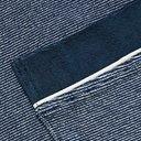 Schiesser - Striped Cotton-Blend Terry Robe - Blue