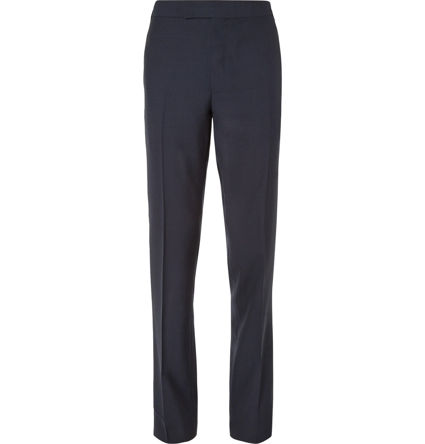 Photo: Kingsman - Arthur Harrison Slim-Fit Wool Suit Trousers - Blue