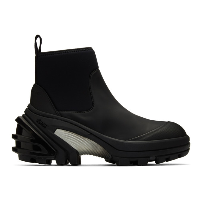 Photo: 1017 ALYX 9SM Black Fixed Sole Mid Boots