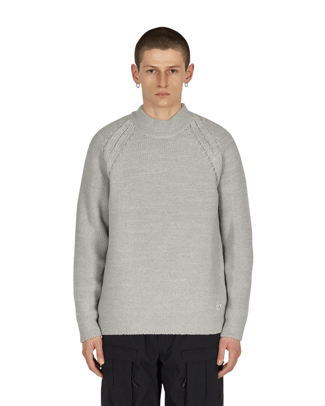 Photo: C.P. Company Turtleneck Sweater Quiet Gray