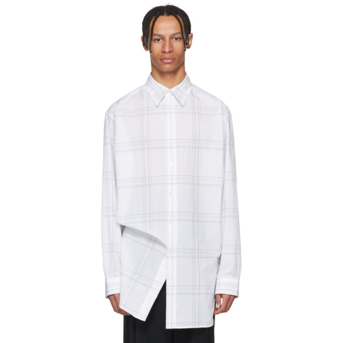 Photo: Raf Simons White Elastic Back Shirt