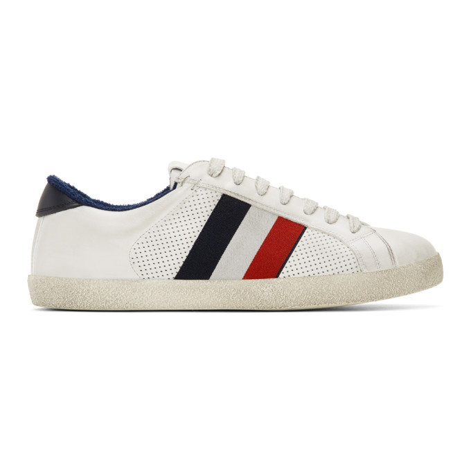 Photo: Moncler White Montreal Sneakers